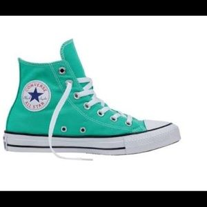 • Converse Men's Size 8 Mint Green New In Box